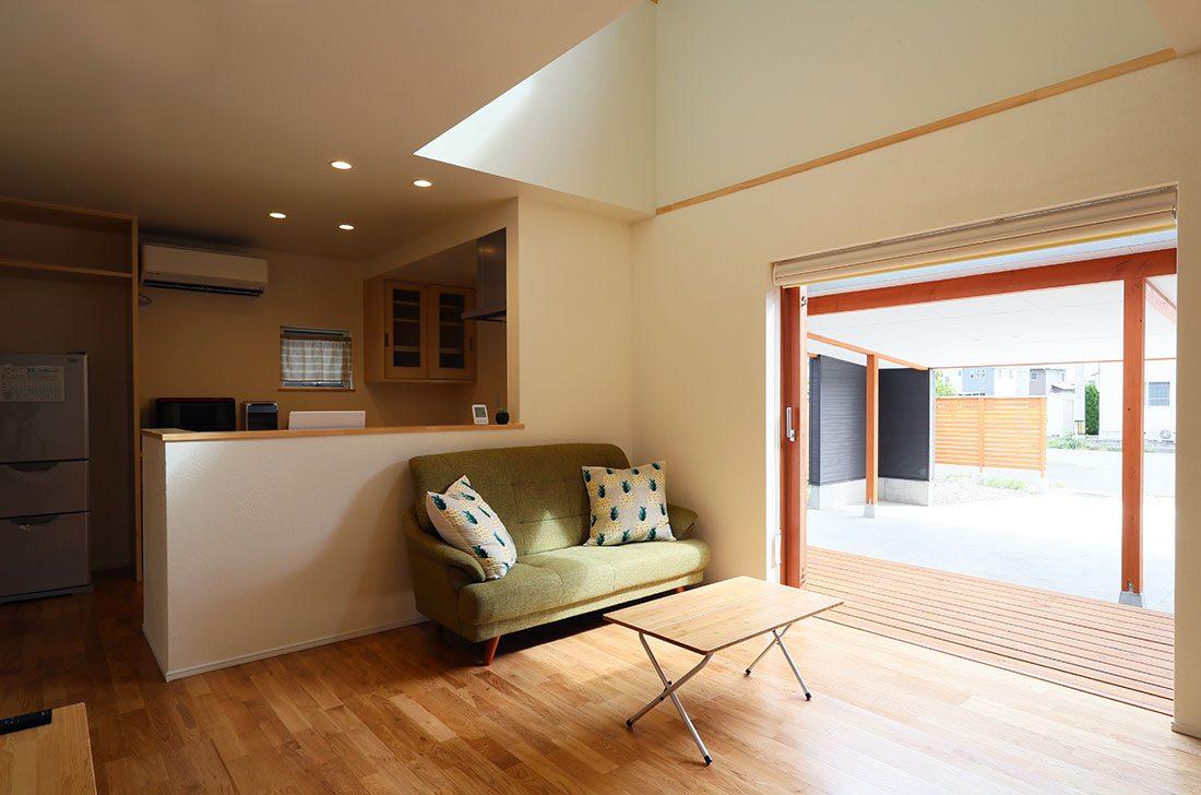 塩川の家S様 全開口の木製サッシ