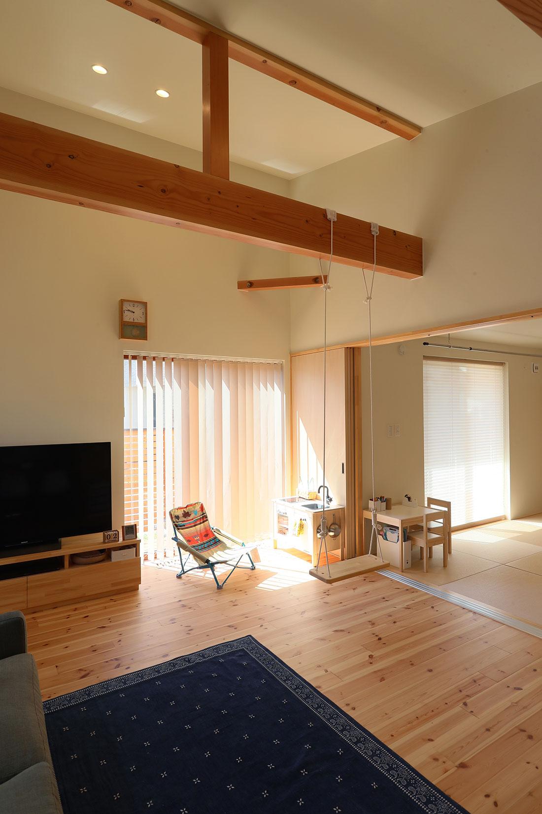 飯寺の家Ⅱ リビング