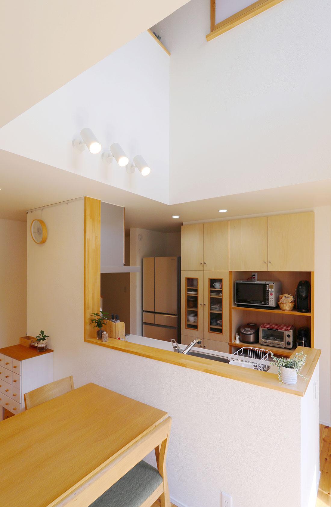 飯寺の家Ⅱ キッチン