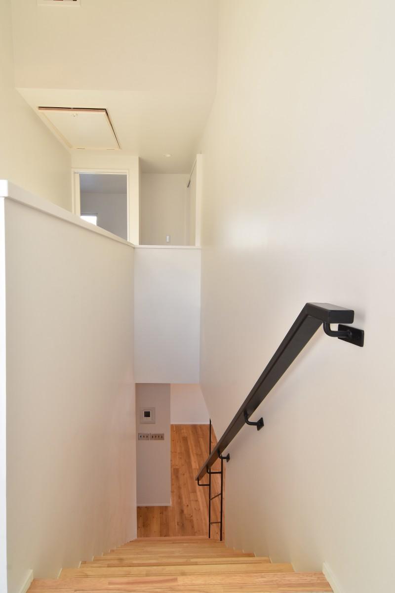 真宮の家 階段