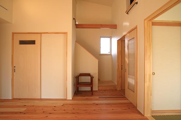 長野の家Ⅱ リビング