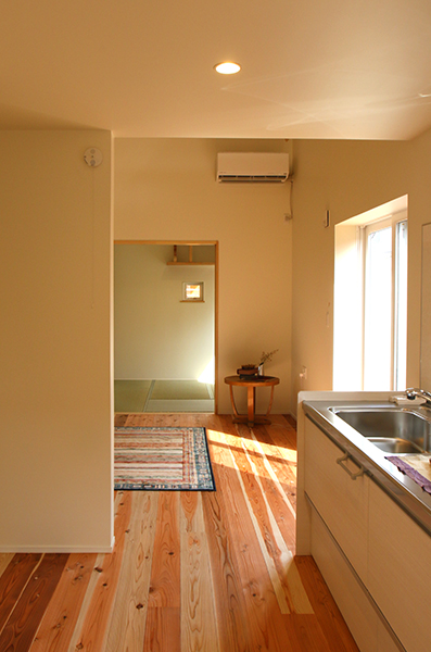 長野の家Ⅱ キッチン
