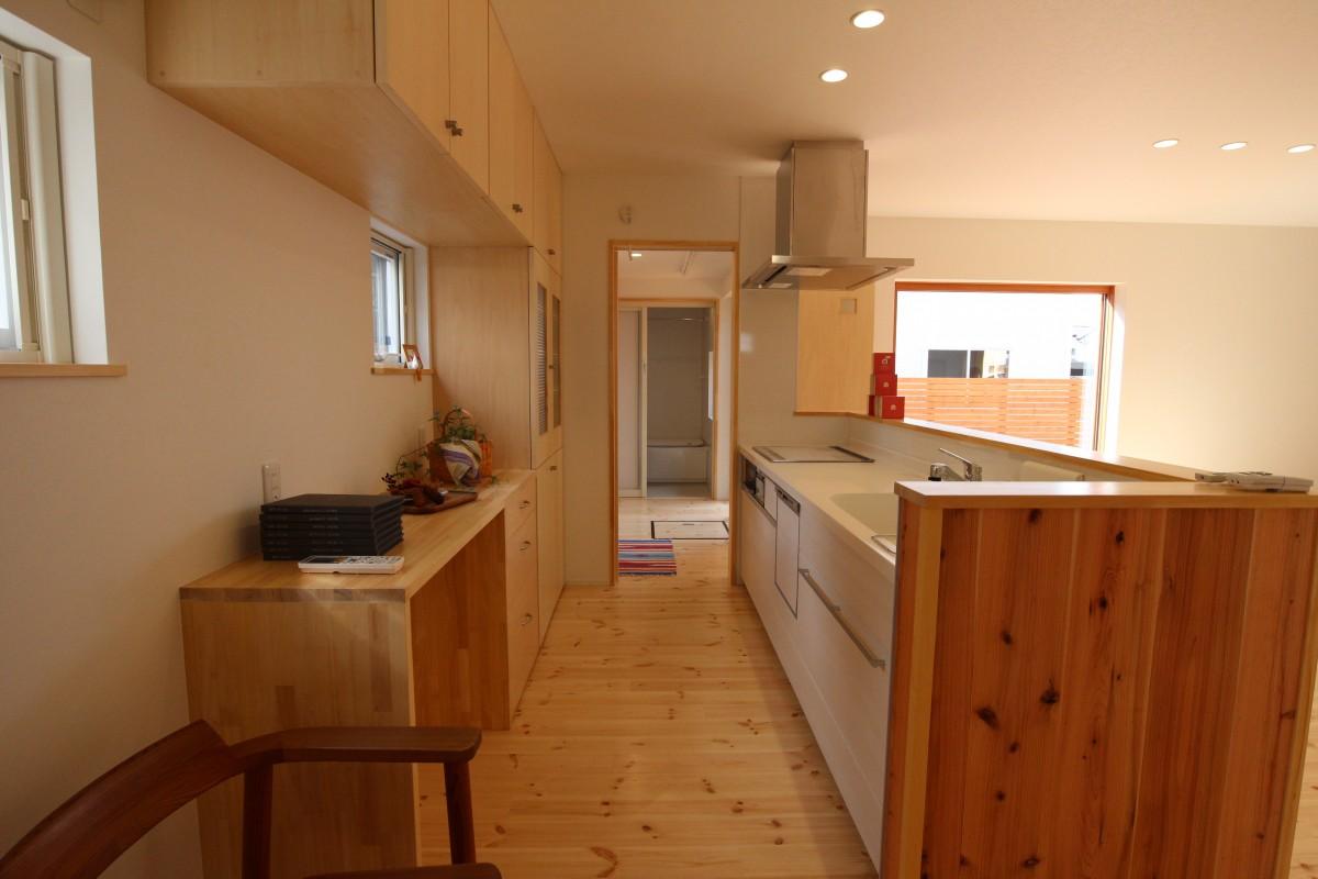 滝沢の家 キッチン