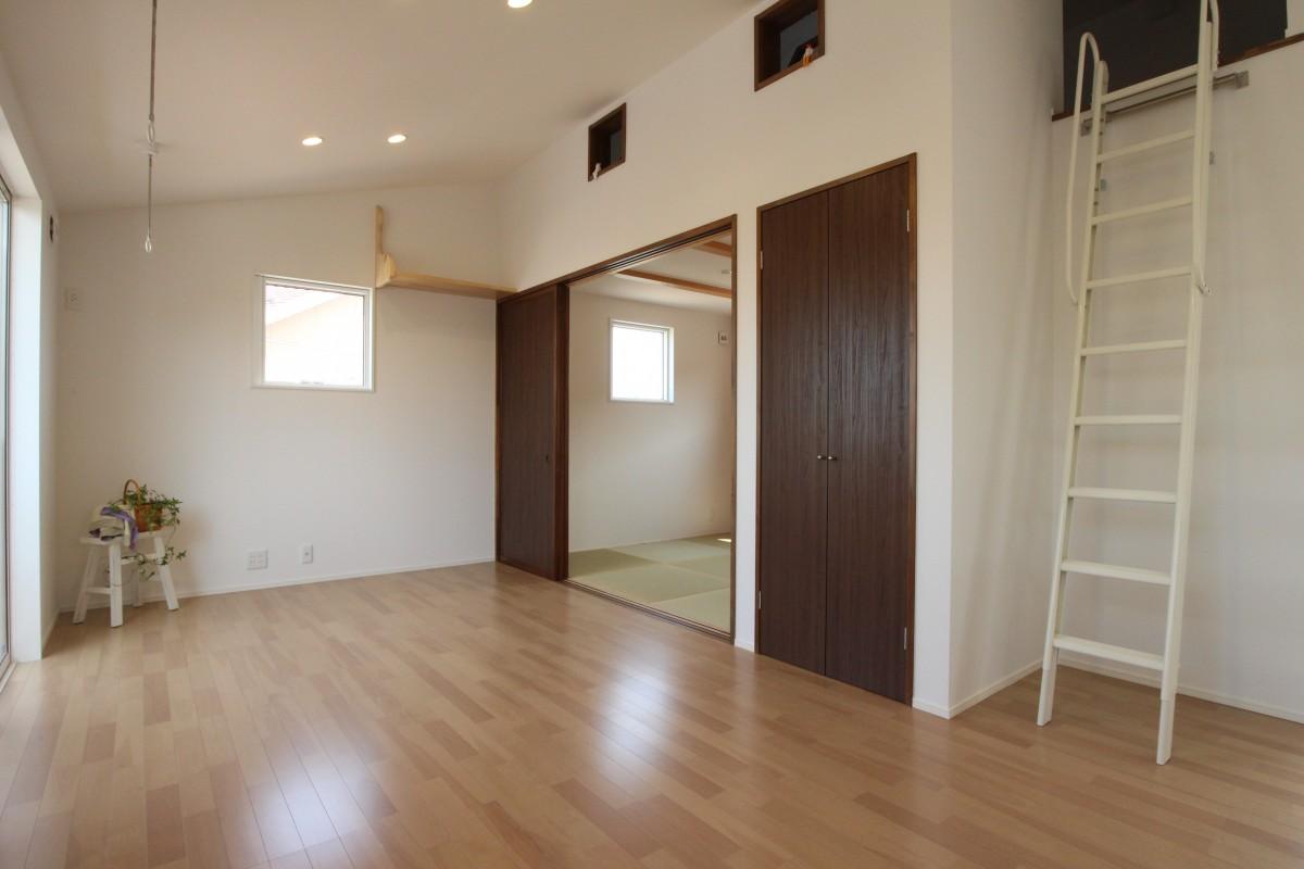日新町の家Ⅱ リビング