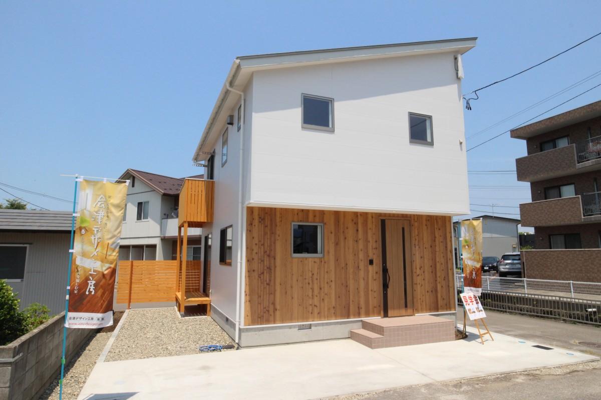 日新町の家Ⅱ 外観