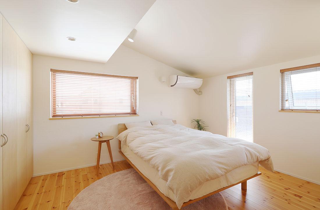 飯寺の家Ⅱ 寝室