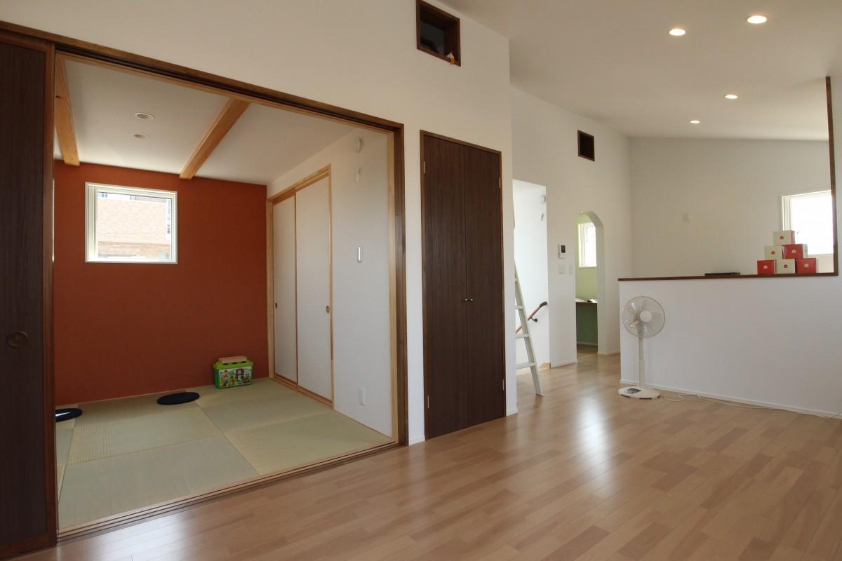 日新町の家Ⅱ 和室